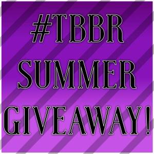 #TBBR summer giveaway