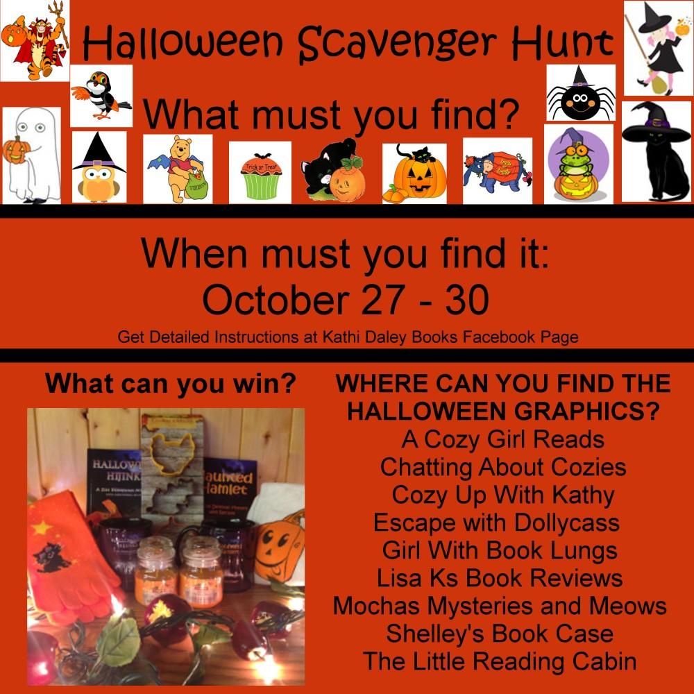 Halloween Scavenger Hunt! (2/2)