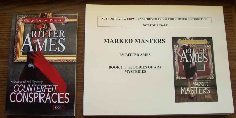 Marked Masters by Ritter Ames (Review and Giveaway) (2/2)