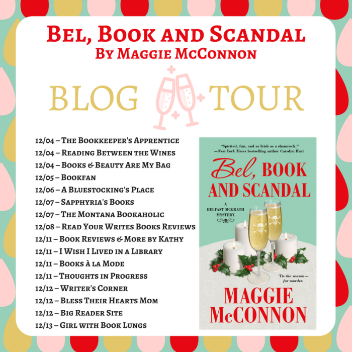 Bel Book Scandal Blog Tour Banner